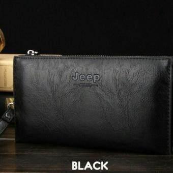 JEEP NEW Professional Men Fashion Leather Men Wallet Mens Hand Bag