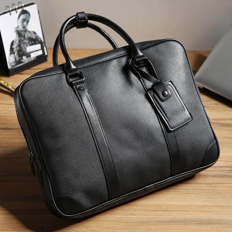 Men s Handbag Business Briefcase Multifunction Tote Bag Computer Bag File  Bag Men s Bag - black eb4431404c77f