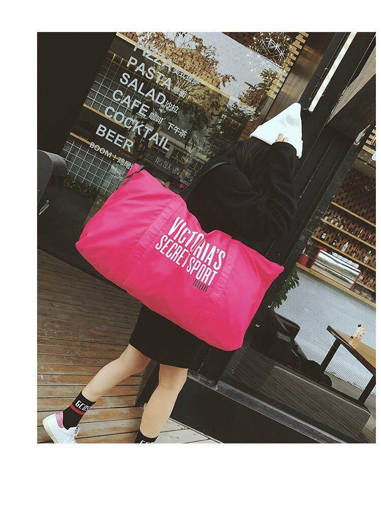 Vs Victoria's Secret Sport Bag/ Light Bag/ Yoga Bag By Colorfullife.