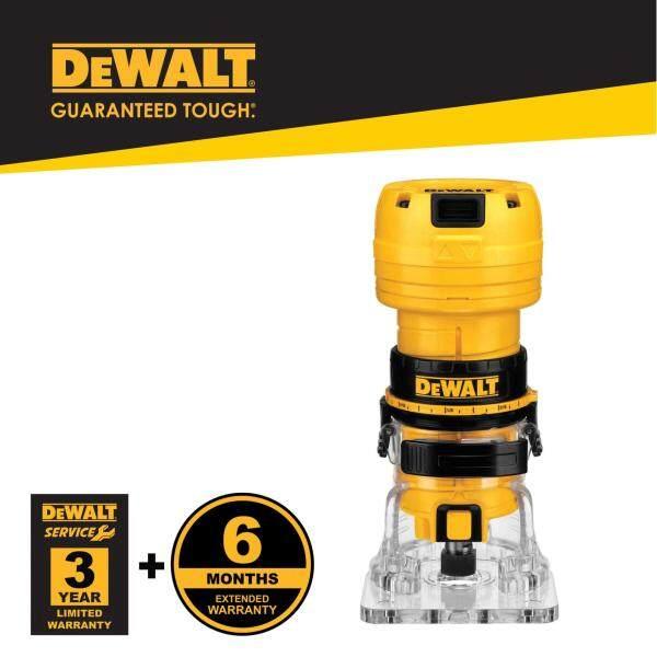 Dewalt DWE6000-XD 390W 6mm Collet Laminate Trimmer (DWE6000)