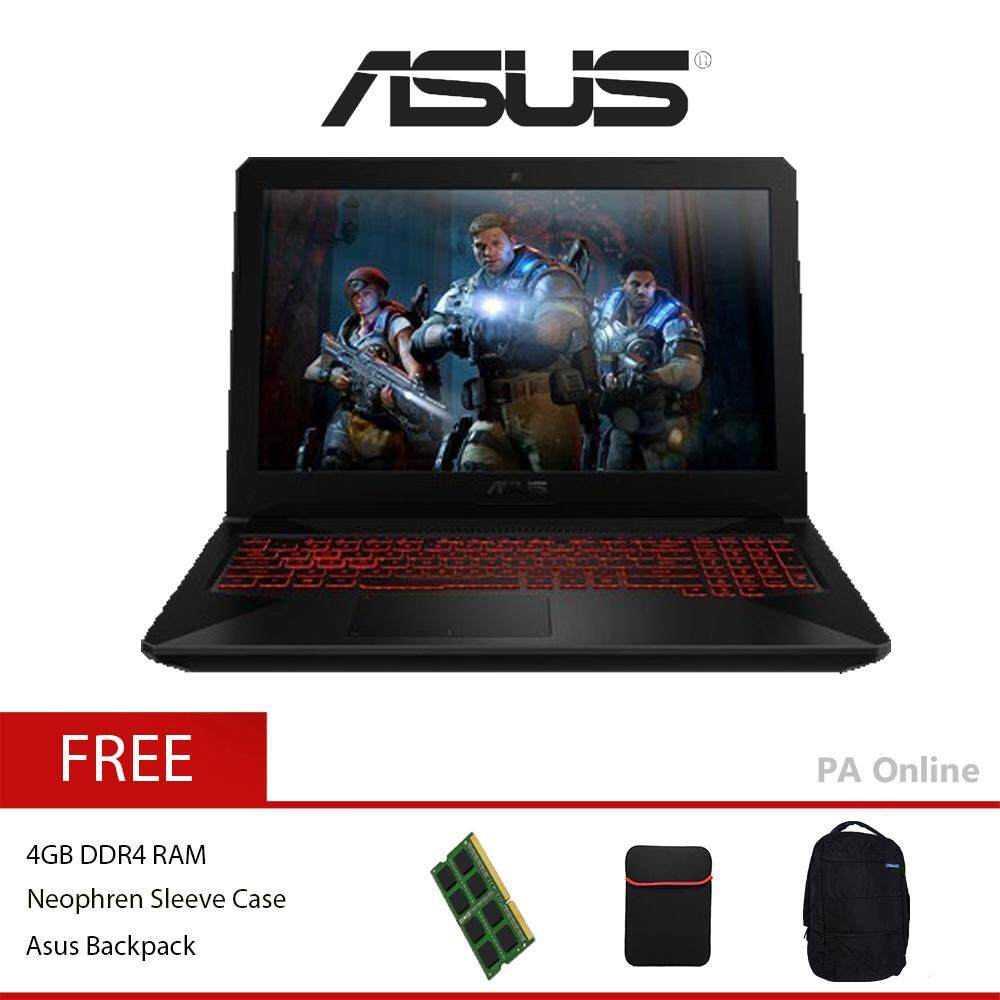 ASUS TUF Gaming FX504G-DE4509T -8GB /Intel Core i7-8750H /8GB DDR4 /128GB+1TB HDD /15.6  Full HD /4GB NVD GTX1050 /WIN 10 Malaysia