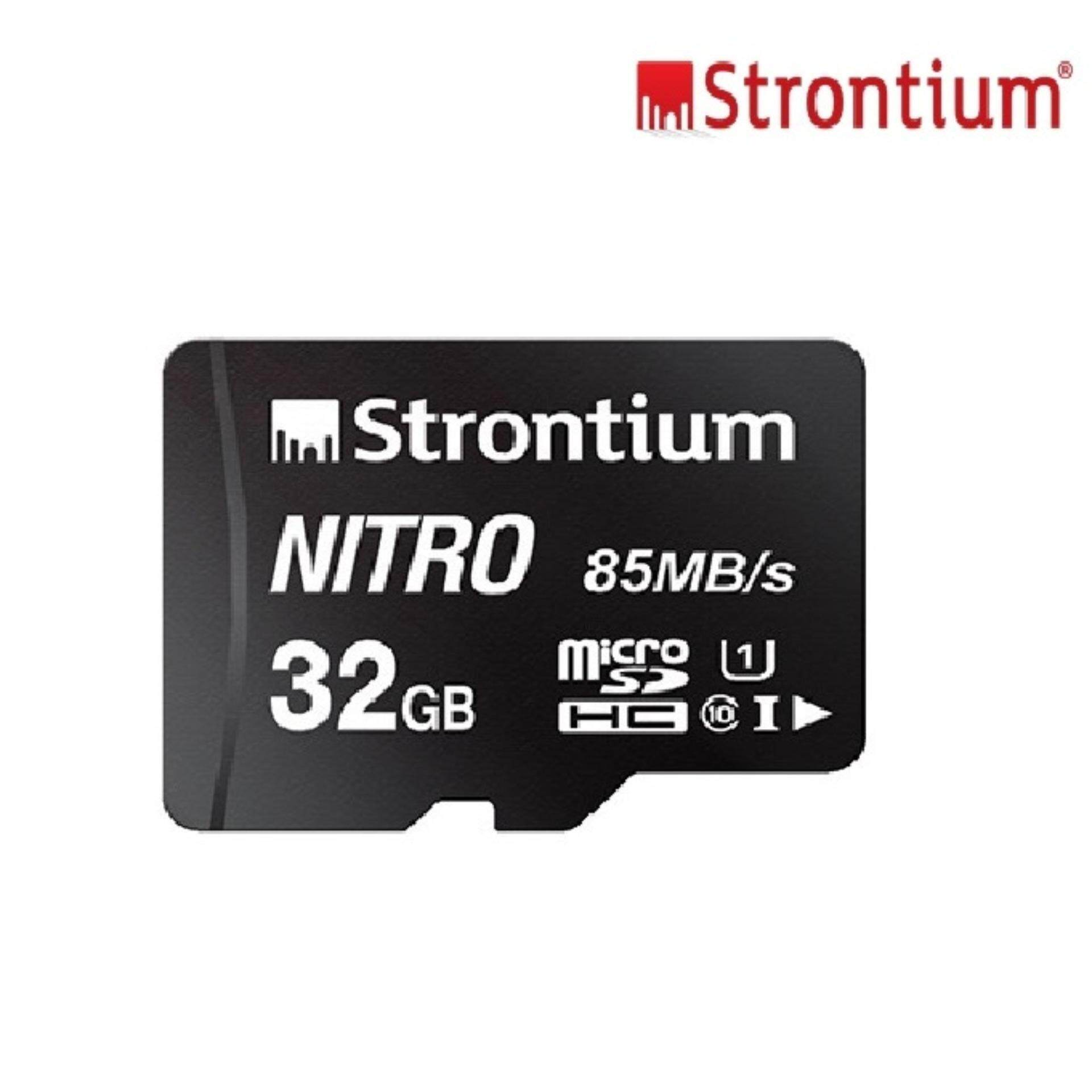 32gb Strontium Nitron 85mb/s Original Memory Card Class 10 Ultra Fast Speed Transfer Mirco Sdhc Sd Card By Dawell.