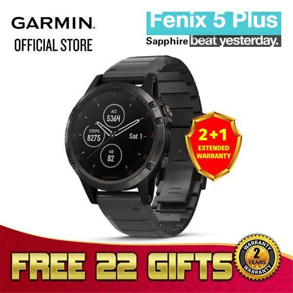 Rm4997 00 Garmin Fenix 5 Plus With Dlc Gray Black