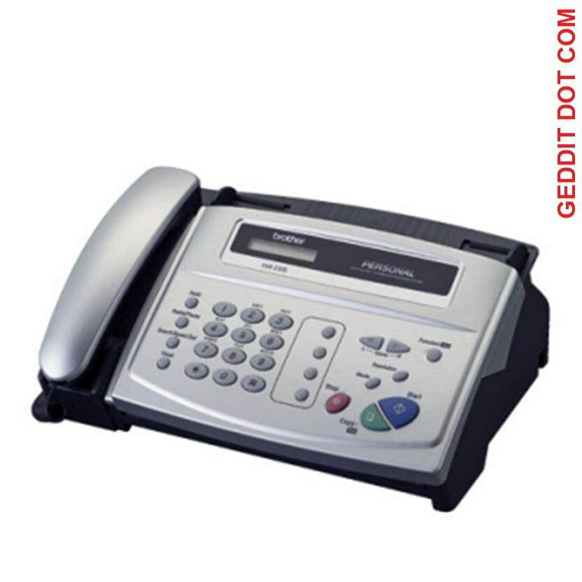 Brother Fax-236se All-In-One Fax Machine Silver (new Model Replacement For Fax-236s , Fax-236) By Geddit Dot Com.