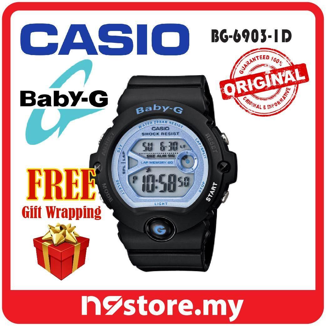 Casio Baby G Bg 169r 8b Hitam Spec Dan Daftar Harga Terbaru Indonesia 6903 8 Abu 1d Digital Ladies Black Sports Watch