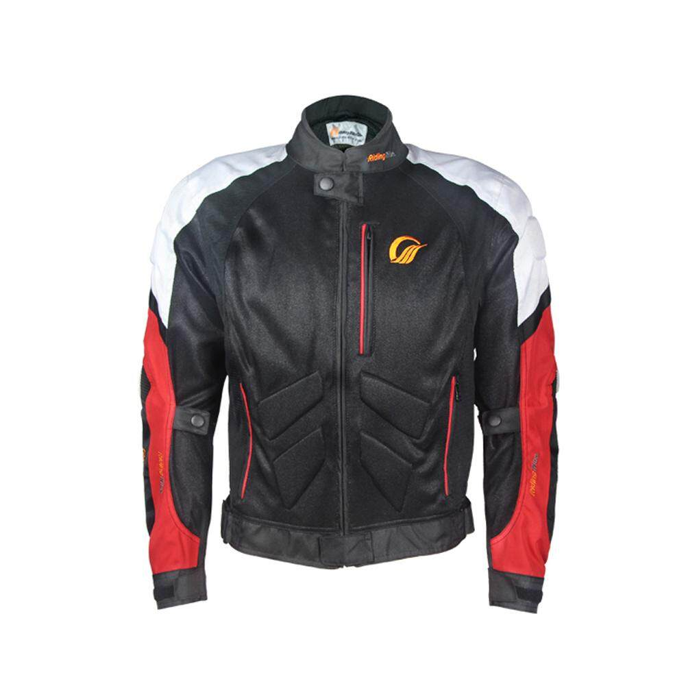 Unisex Motorcycle Cycling Suit Jacket Rider Racing Breathable Anti-colision Motorcycle Suit for Summer Spring