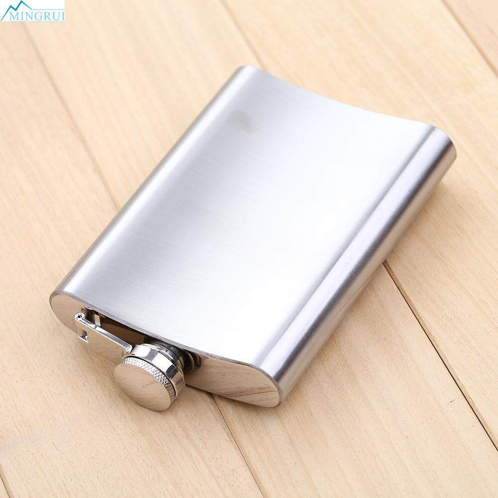 Silver Stainless Steel Hip Flask Whiskey Pocket Container Flagon 2015 Bottle By Mingrui.
