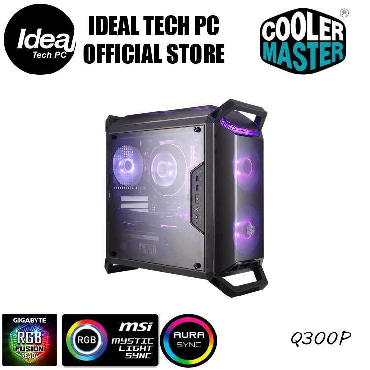 Cooler Master MasterBox Q300P (Micro Atx Chassis) Malaysia