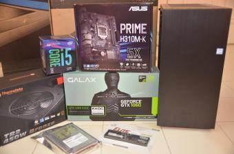 PC GAMING ( Intel Core i5 8400 8th Gen  / 8GB RAM / GTX 1060 6GB / 240GB SSD / WIN 10 PRO-64 Bit )