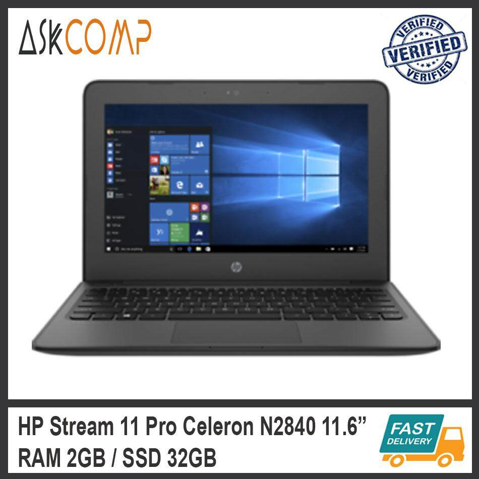 [Refurbished] HP Stream 11 Pro-11.6-Celeron N2840-2GB RAM-32GB SSD / 3 Month Warranty Malaysia