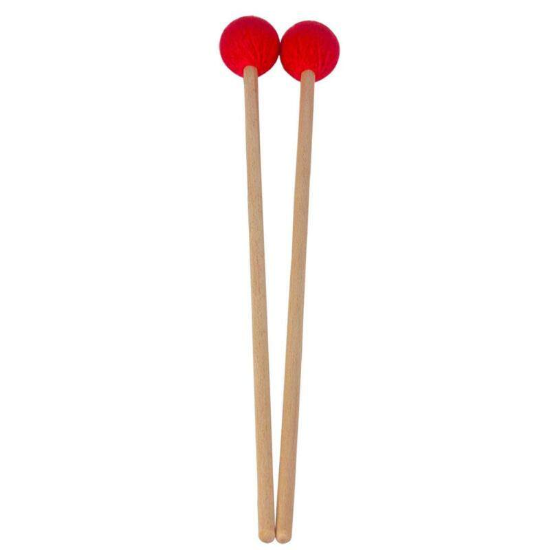Star Mall 1 Pair Marimba Mallets Soft Head Red for Pianissimo Playing Malaysia