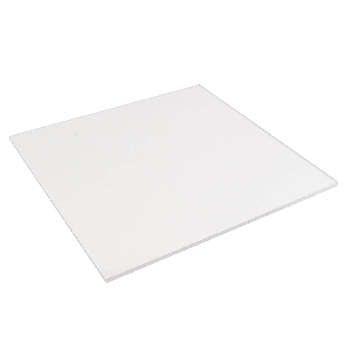 New 10mm 500x500mm Acrylic Perspex Sheet Cut to Size Panel Plastic Satin Gloss