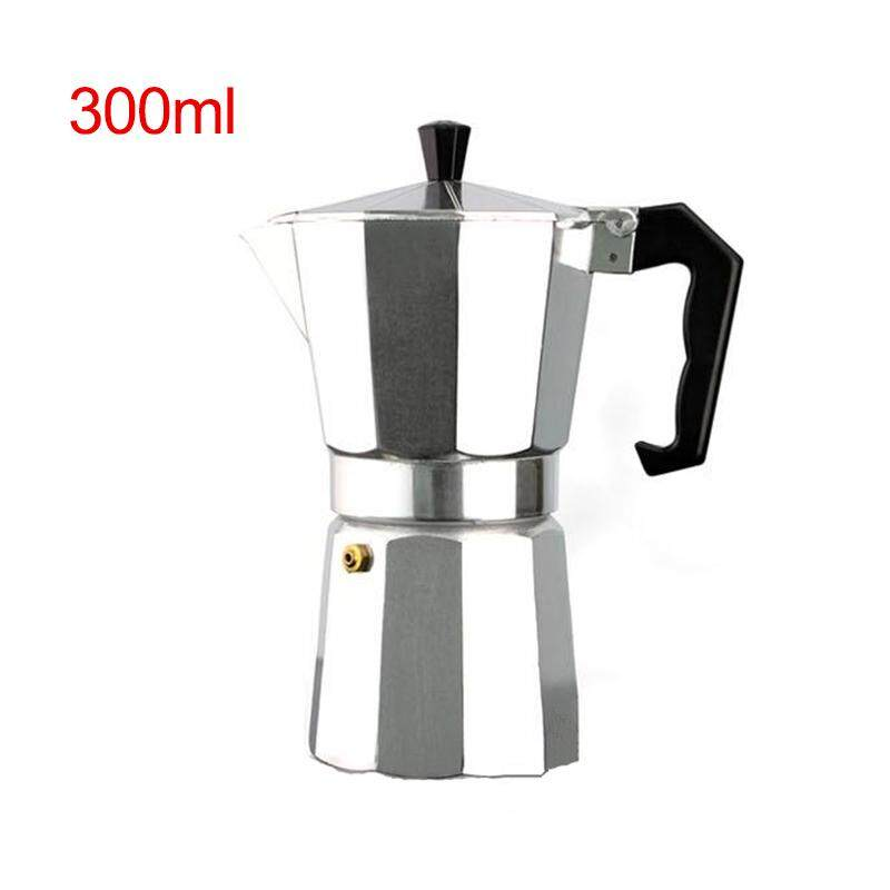 Aluminum 6cup Stove Top Moka Espresso Coffee Maker Percolator Pot Coffee Maker Octagon Shape Pot Espresso Maker