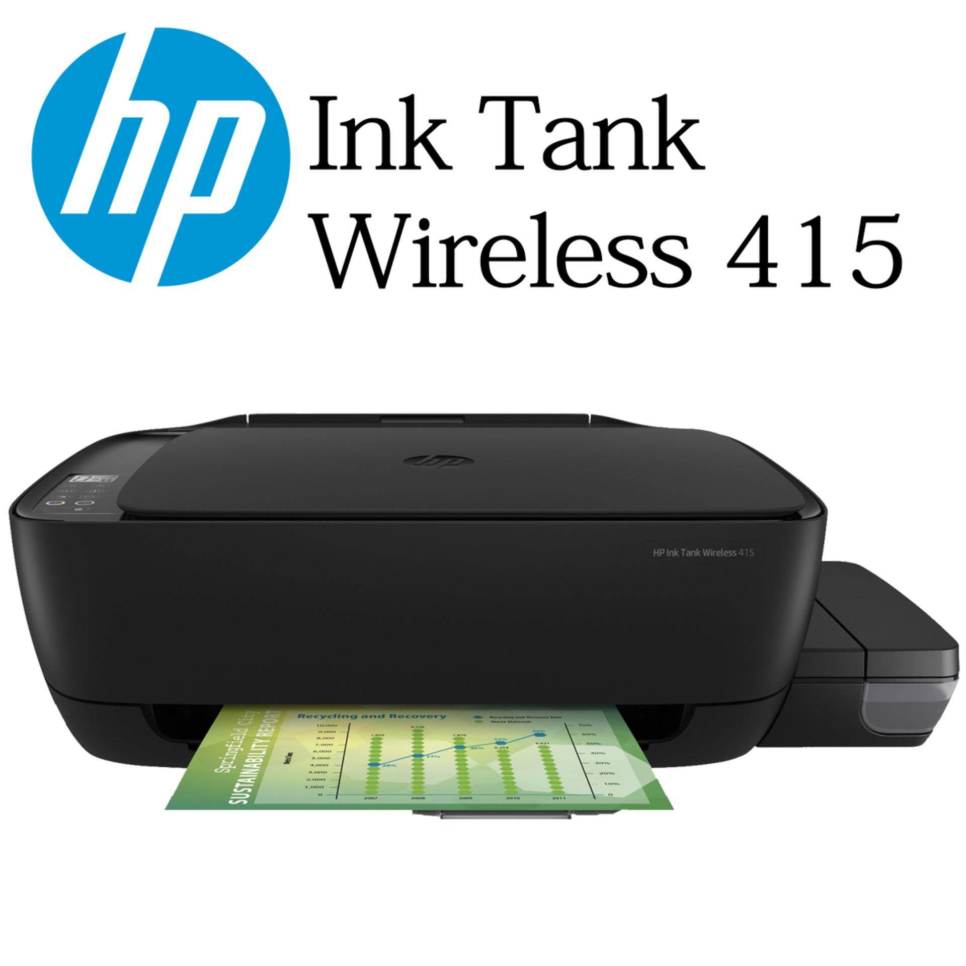 Hp Ink Jet For The Best Prices In Malaysia Tinta 680 Colour Cartridge Original Tank Wireless 415 Inkjet Printer Print Scan Copy Similar With Canon G3010