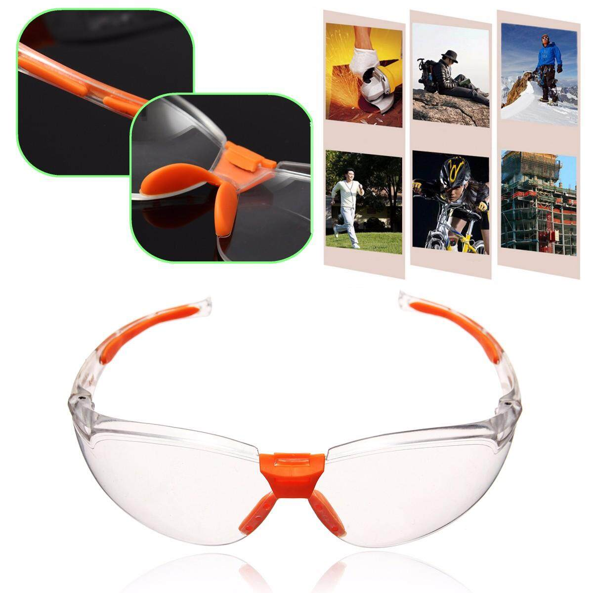 2pcs Safety Welding Cycling Riding Driving Glasses Sports Sunglasses Protect Goggles