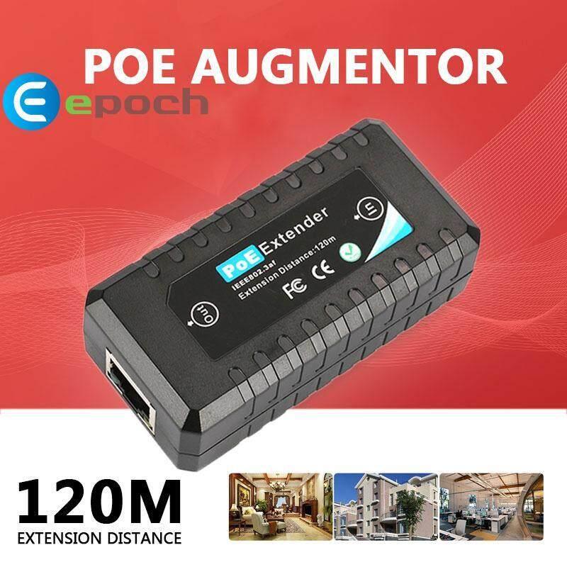 Faflbhj Epoch POE Extender IEEE802.3af Ethernet Extender 10/100M
