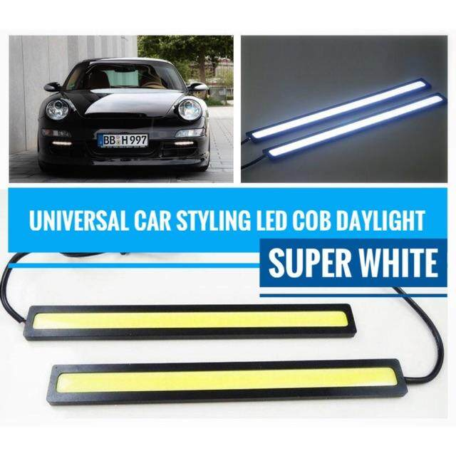 Car Daylight led COB Super White universal