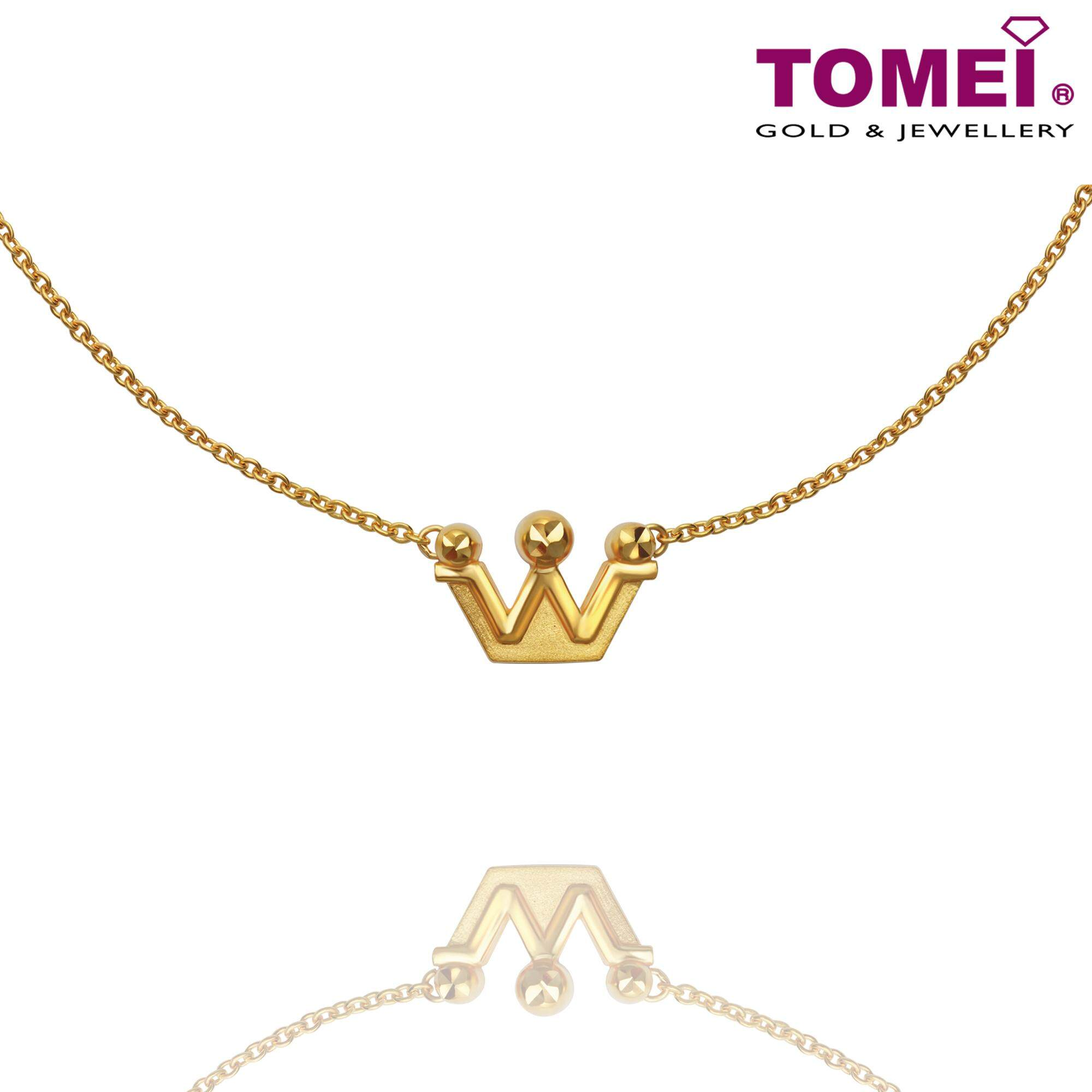 Tomei Yellow Gold 916 (22K) The Noble Collection Necklace (NN2758-1C)