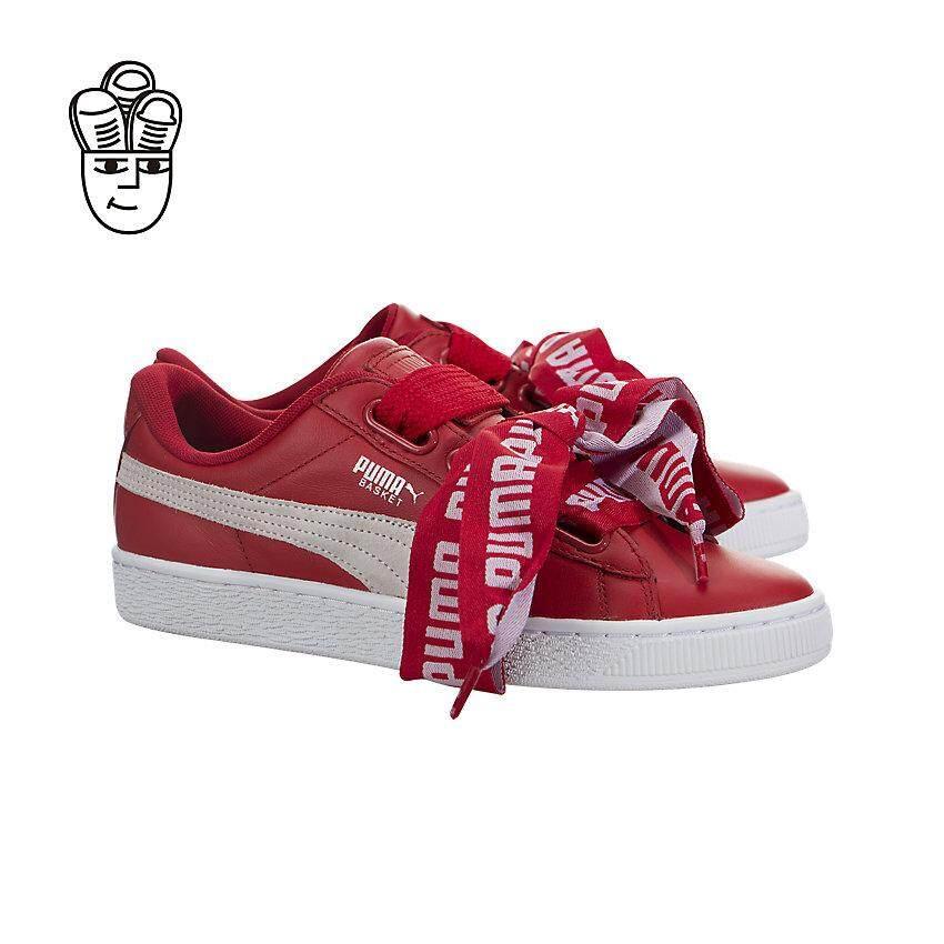 Jualan besar Puma Basket Heart DE Lifestyle Shoes Women 36408203 ... 2a72c76b2