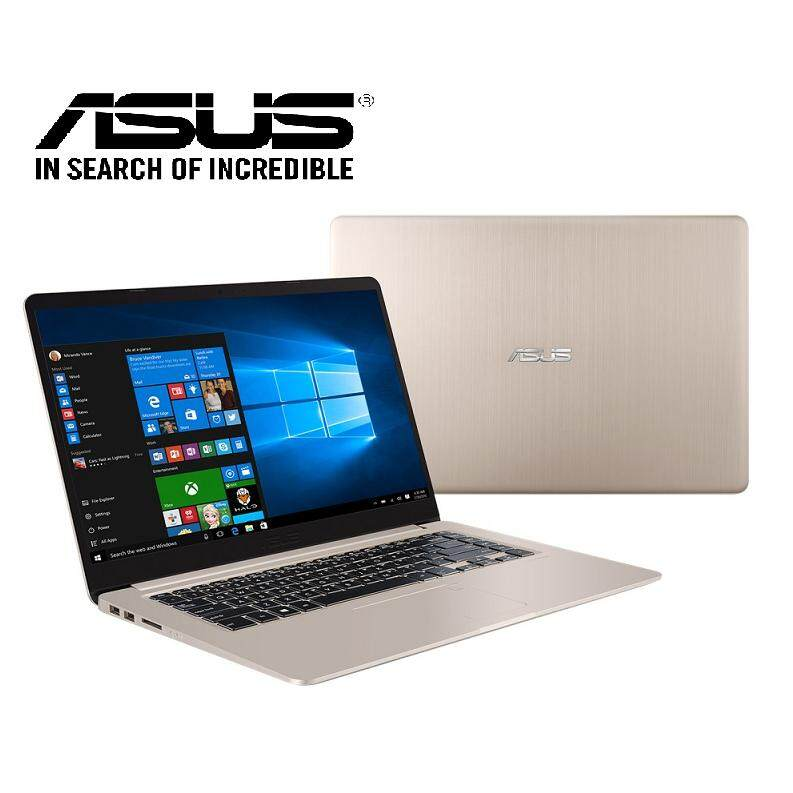 Asus Vivobook A510U-FEJ101T/140T Laptop (i7-8550U/4GB D4/1TB/NVD MX130 2GB/15.6FHD/W10) Grey/Gold Malaysia