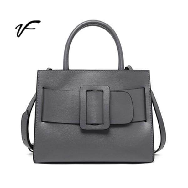 VF 2018 New Bag Ladies Leather Handbag Bark Pattern Diagonal Shoulder  European Style Boyy Big Bag 912263f3a1