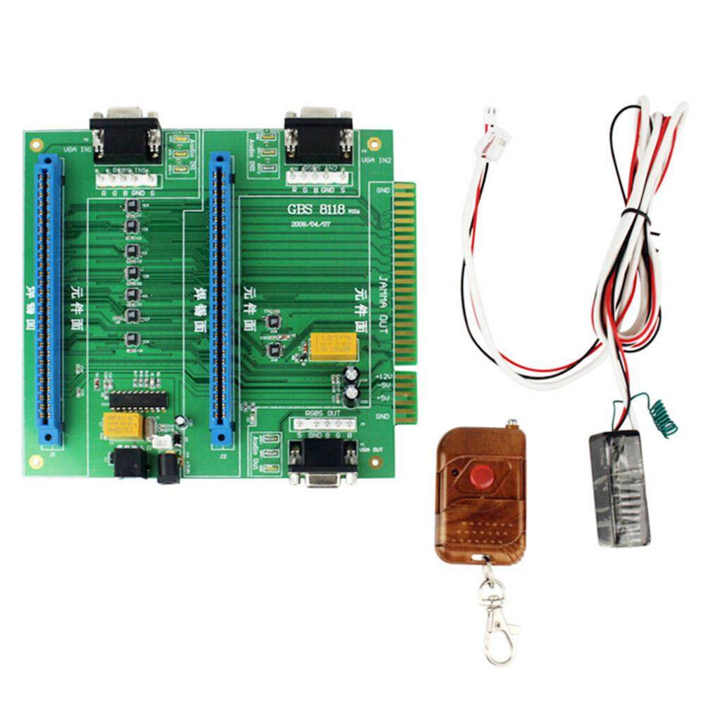 Ybc 2 In 1 Jamma Switch Remote Control Arcade Games Multi Switcher For Audio Vga Output Gbs-8118 By Your Bestchoice.