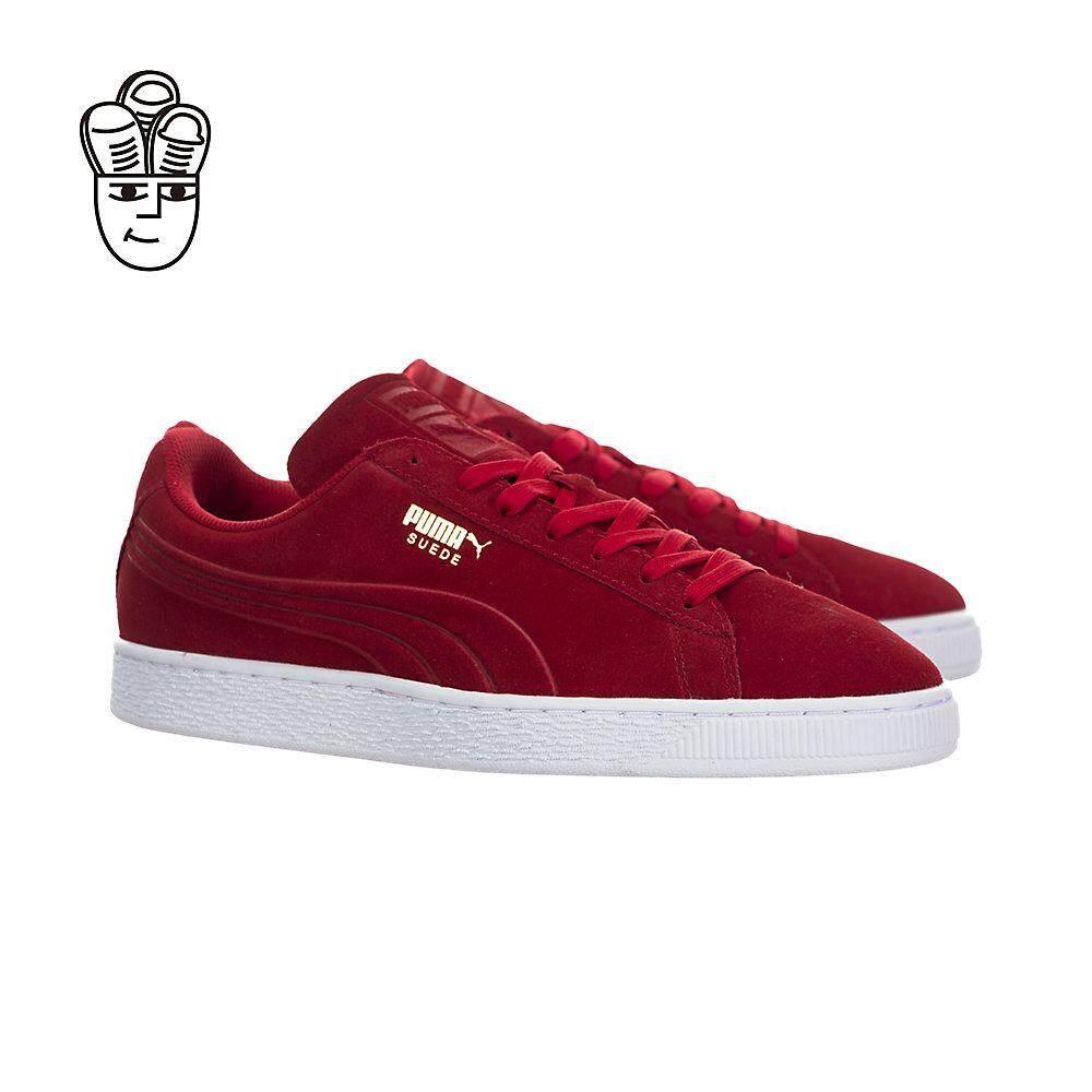 best sneakers 024a9 c770f Puma Suede Classic Debossed Retro Shoes Men 36109703