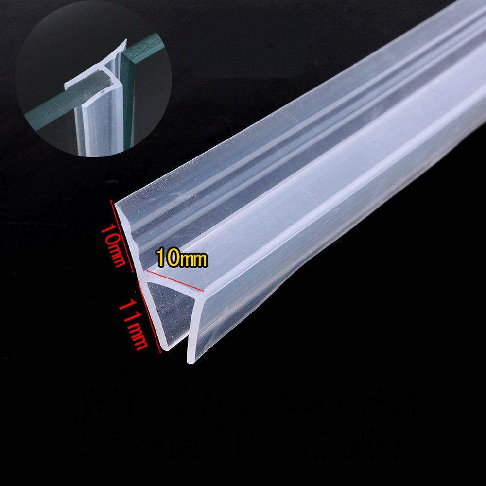 Door Window Weather Strip for 10mm Thick Glass Balcony Shower Screen Seals 5 Meters h Transparent
