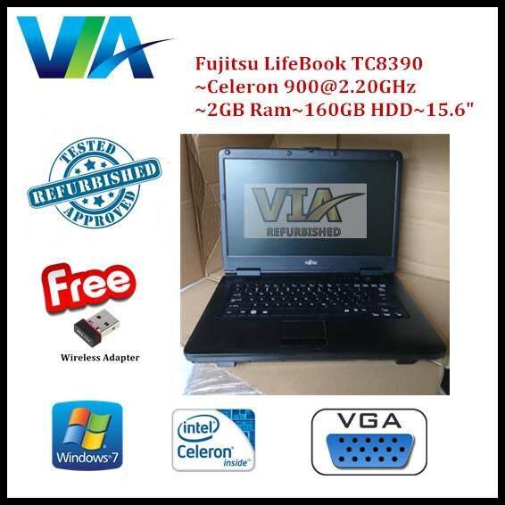 Refurb Fujitsu LifeBook TC8390~Celeron~2GB~160GB~15.6~Win 7 Malaysia