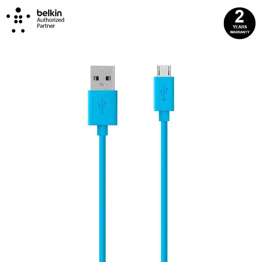 Belkin F2CU012bt04-BLU MIXIT↑™ Micro USB ChargeSync Cable 1 2 Meter-Blue
