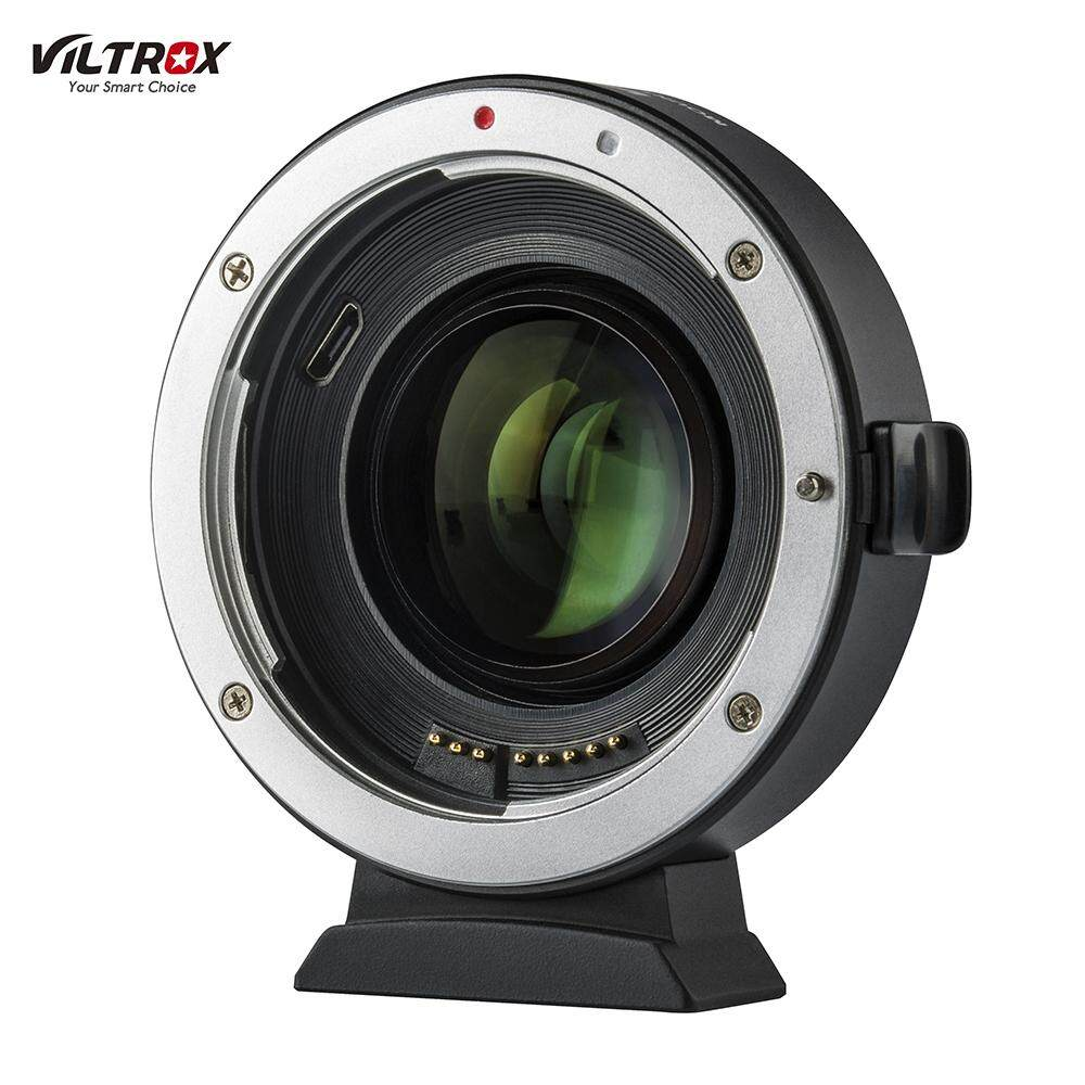 Viltrox Ef-Eos M2 Auto Focus Lens Mount Adapter Ring 0.71x Focal Lenth Multiplier Usb Upgrade For Canon Ef Series Lens To Eos Ef-M Mirrorless Camera For Canon Eos M/ M2/ M3/ M5/ M6/ M10/ M50/ M100 By Superdeal2019.