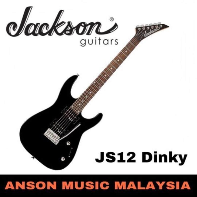Jackson JS12 Dinky Electric Guitar, Gloss Black Malaysia