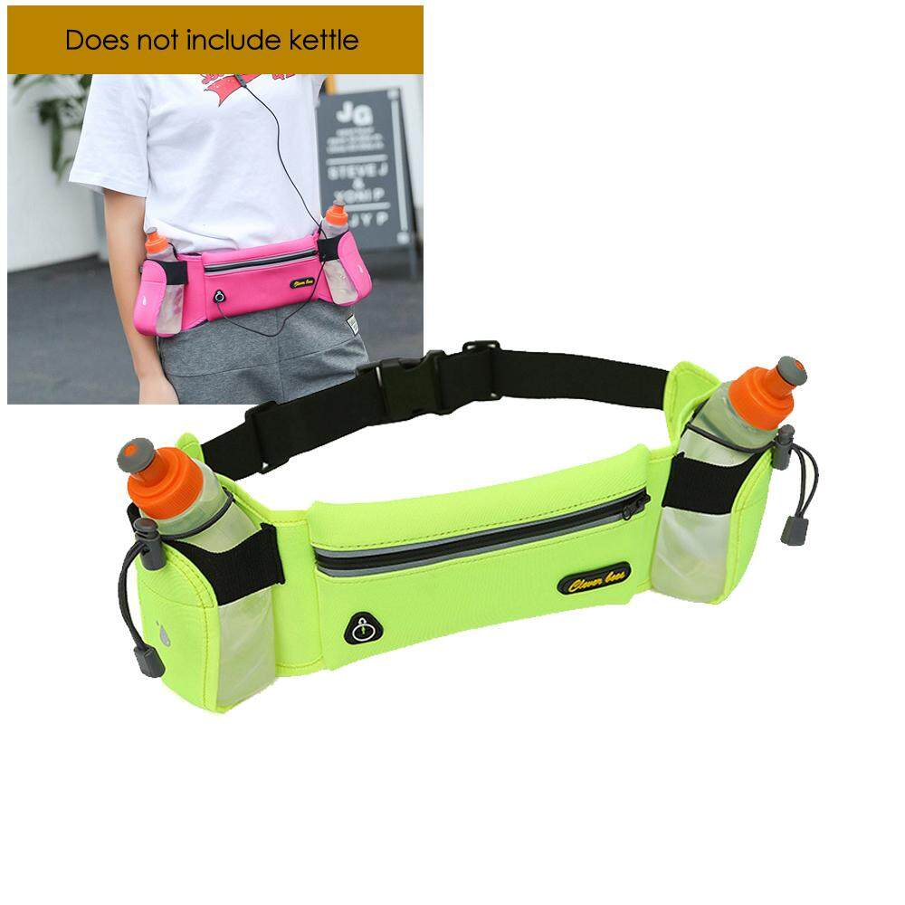 Aolvo New Oxford Fabric Waterproof Running Waist Bag Outdoor Sports Belt Pockets With Bottles Holder By Aolvo.