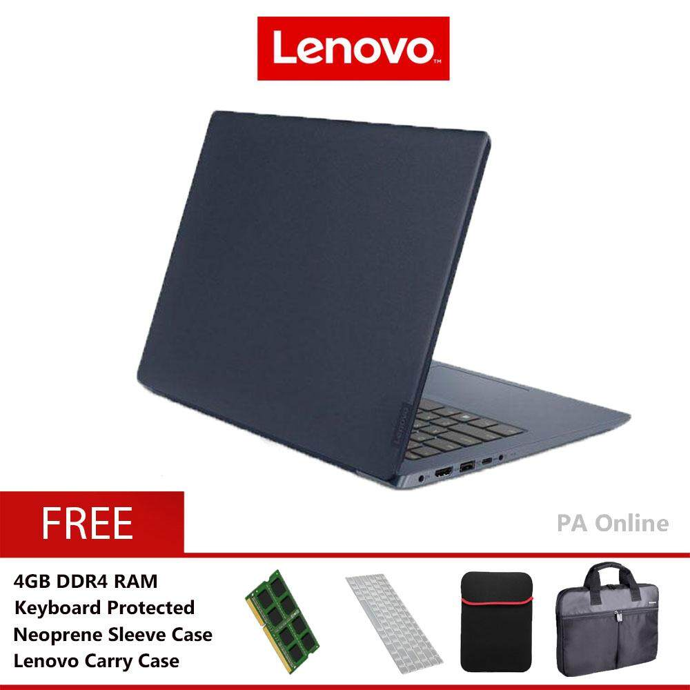 Lenovo Ideapad 330s-14IkB 81F400NYMJ -8GB RAM /Intel Core i3-7020u/8GB/1TB HDD/Intel HD 620/14 HD/Win 10/2 Years Malaysia