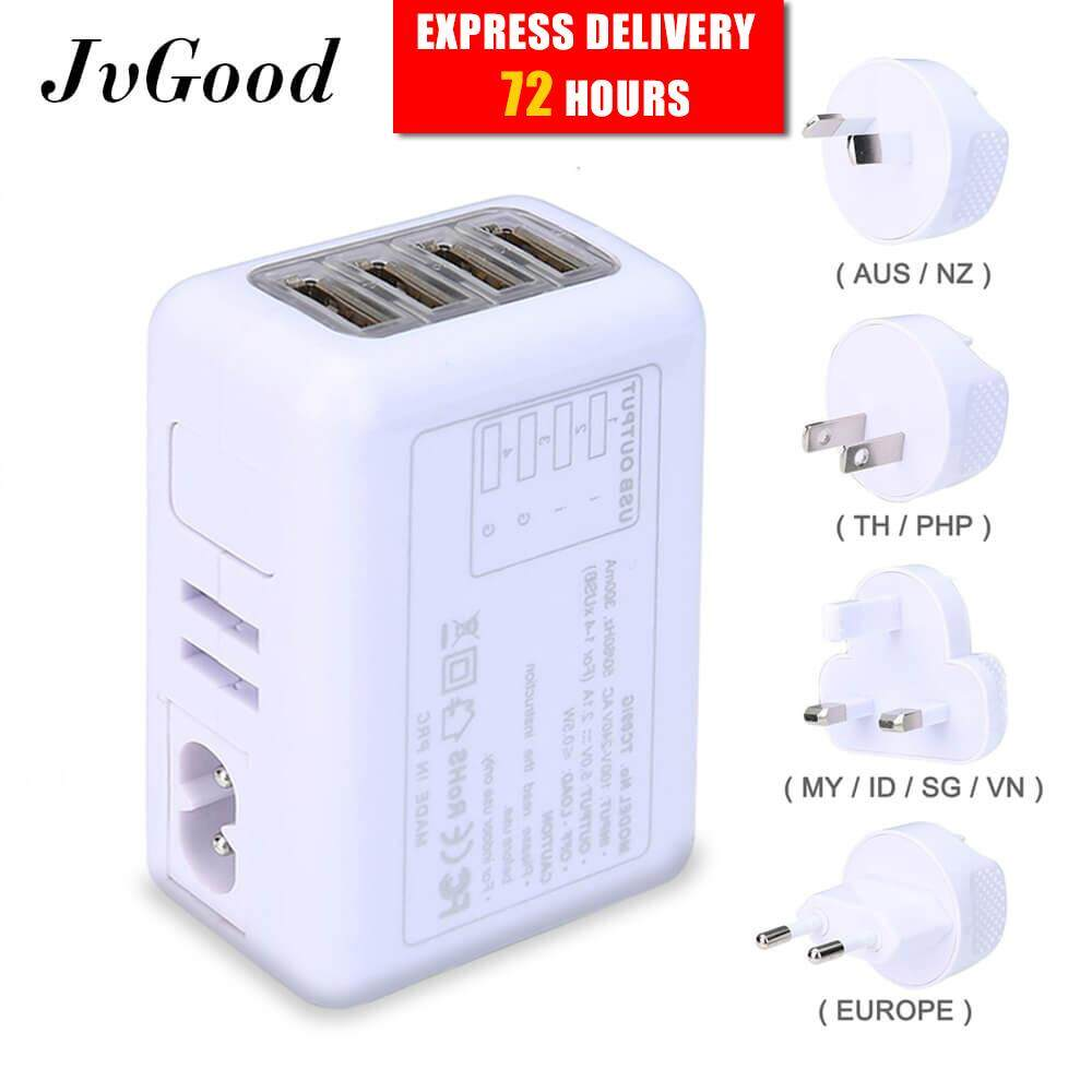 Travel Adapters Converters Buy At Ac 100 240v To Dc 9v 1a Switching Power Supply Converter Adapter Eu Jvgood International Universal With 24a 4 Usb Charger Worldwide Wall