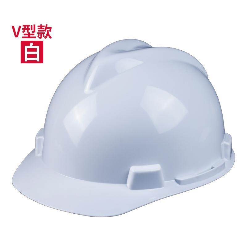 High Strength Safety Helmet Construction Site Breathable National Standard Thick Helmet Construction Architecture Engineering Electric Power Leadership Customizable Logo