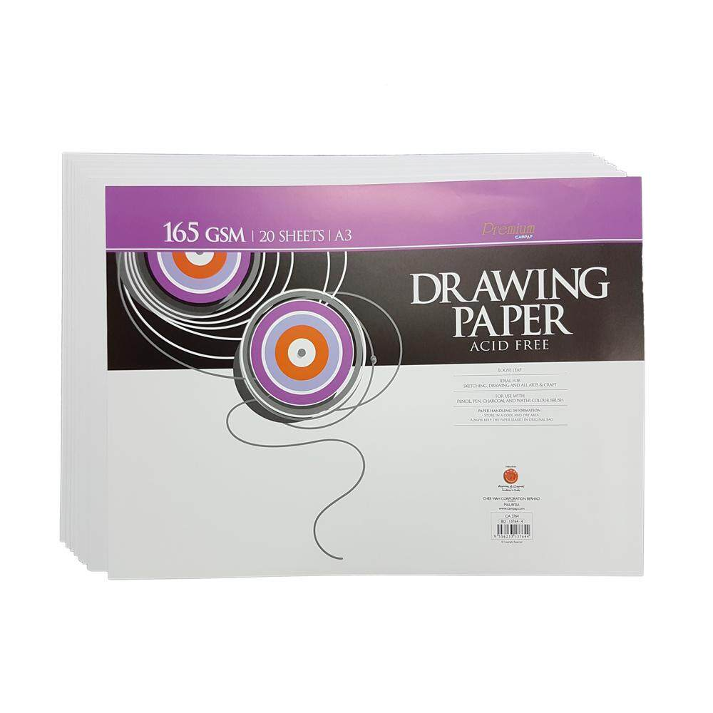 Campap Drawing Paper 165gsm A3 Size By Huanyo.