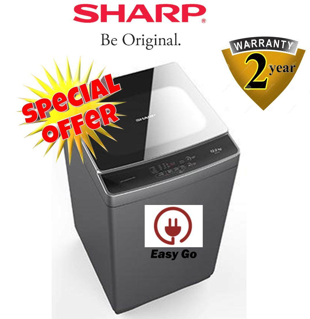 SHARP ESX1278 Top Load WASHER 12kg Fully Auto
