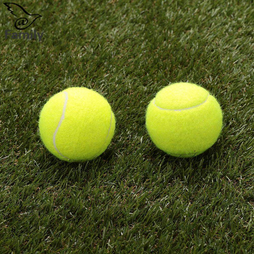 Big Family Tennis Ball Durable Elasticity Round Training Learning Sports Exercise Adults(one Piece) By Bigfamily.