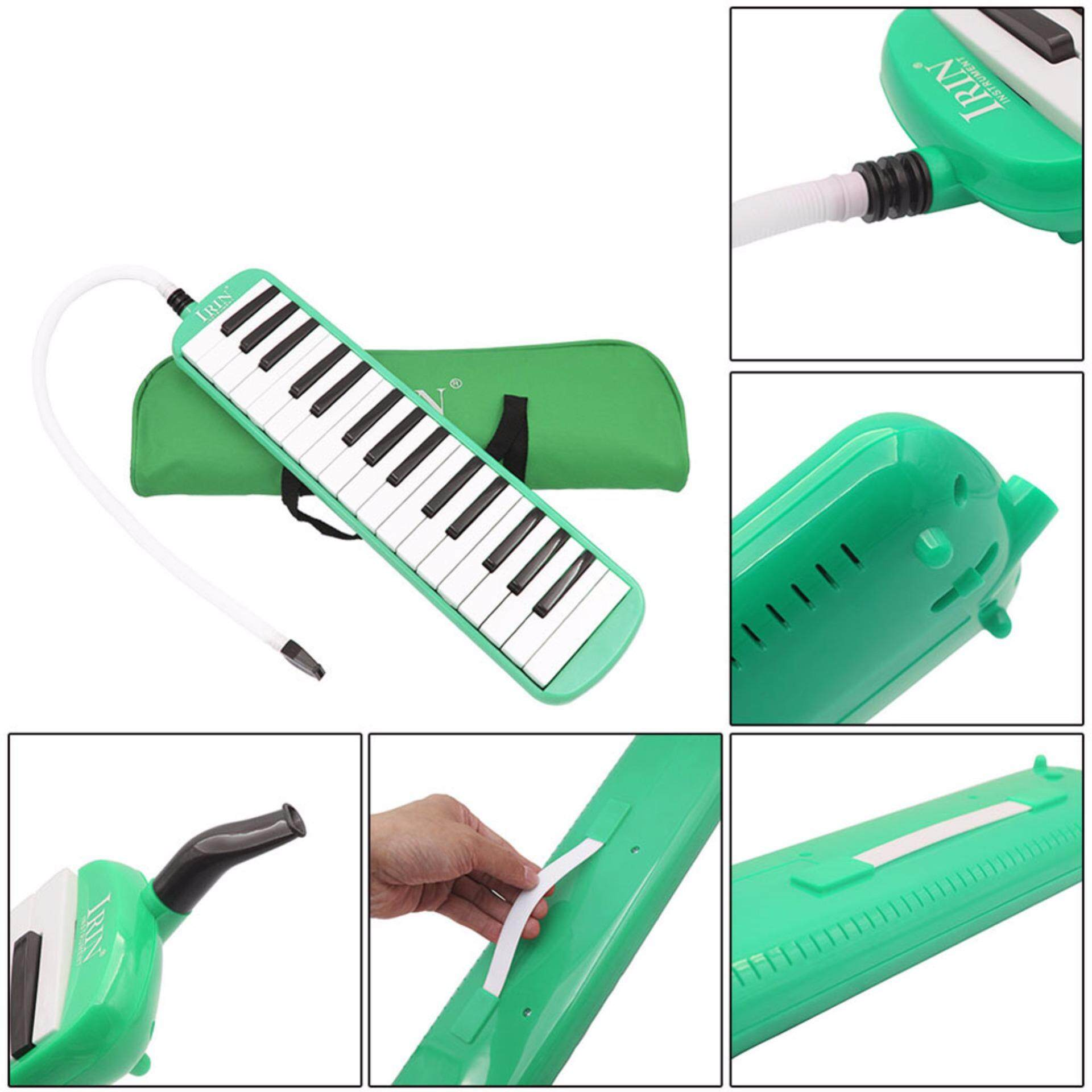 32 Key Piano Style Melodica With Deluxe Carrying Case Organ Accordion Mouth Piece Blow Key Board Instrument By Wangwang Store.
