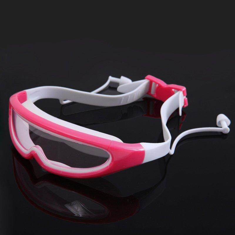 Qo Big Frame Swimming Glasses Children Anti-Fog Uv Kids Waterproof Swimming Goggles Child Swim Eyewear By Qooiu.