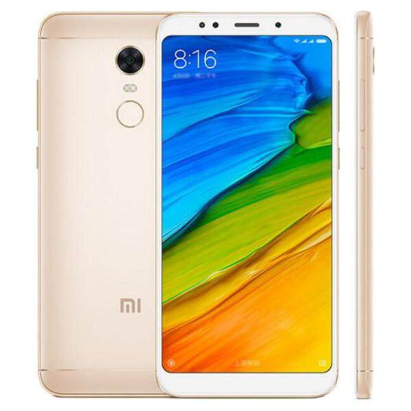 XIAOMI Redmi 5 Plus Global Version 5.99 inch 3GB RAM 32GB Snapdragon 625 Octa core 4G Smartphone Gold