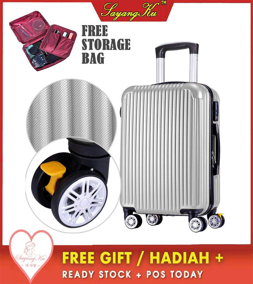 42e41ffda78 [M'sia] SayangKu Ready Stock 20 inches Premium High Quality Travel ABS  Luggage
