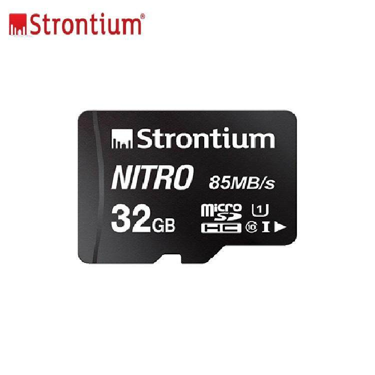 Original Strontium 32gb Nitron 85mb/s Memory Card Class 10 Ultra Fast Speed Transfer Mirco Sdhc Sd Card By Global Trend.