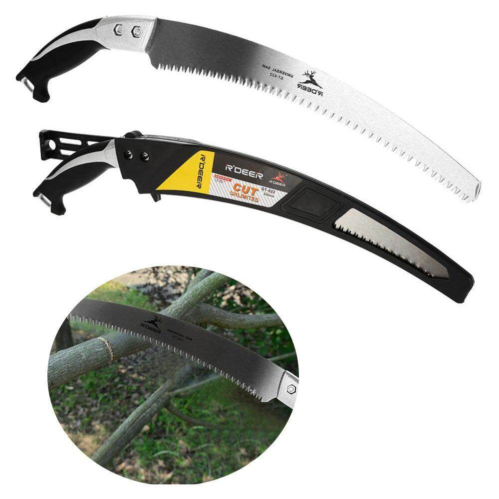 epayst 330mm Practical Portable Hand Curved Saw Landscape Gardening Orchard Pruning Cutting Tool