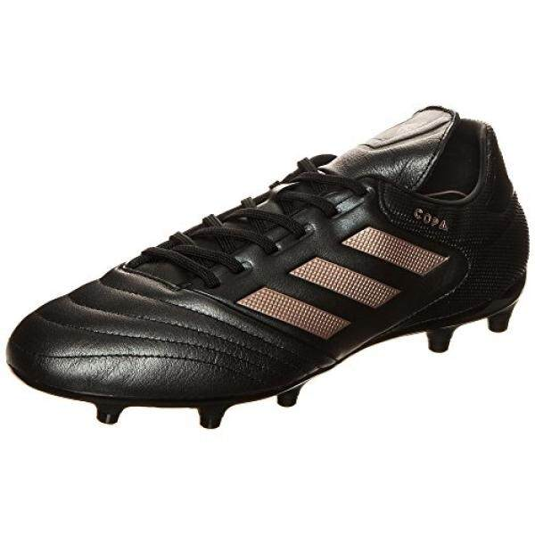 1b004c55259a adidas Mens Copa 17.3 Firm Ground Cleats Soccer Shoe, Black/Copper  Metallic/Black