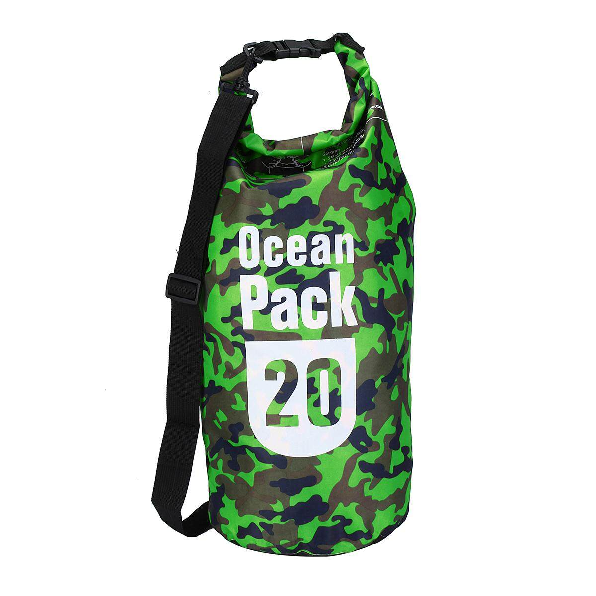 Water Sports Dry Bags. 11561 items found in Dry Bags. 20L Camouflage Multi  - functional Outdoor Drift Waterproof Bag Storage Bag 372b884da309c