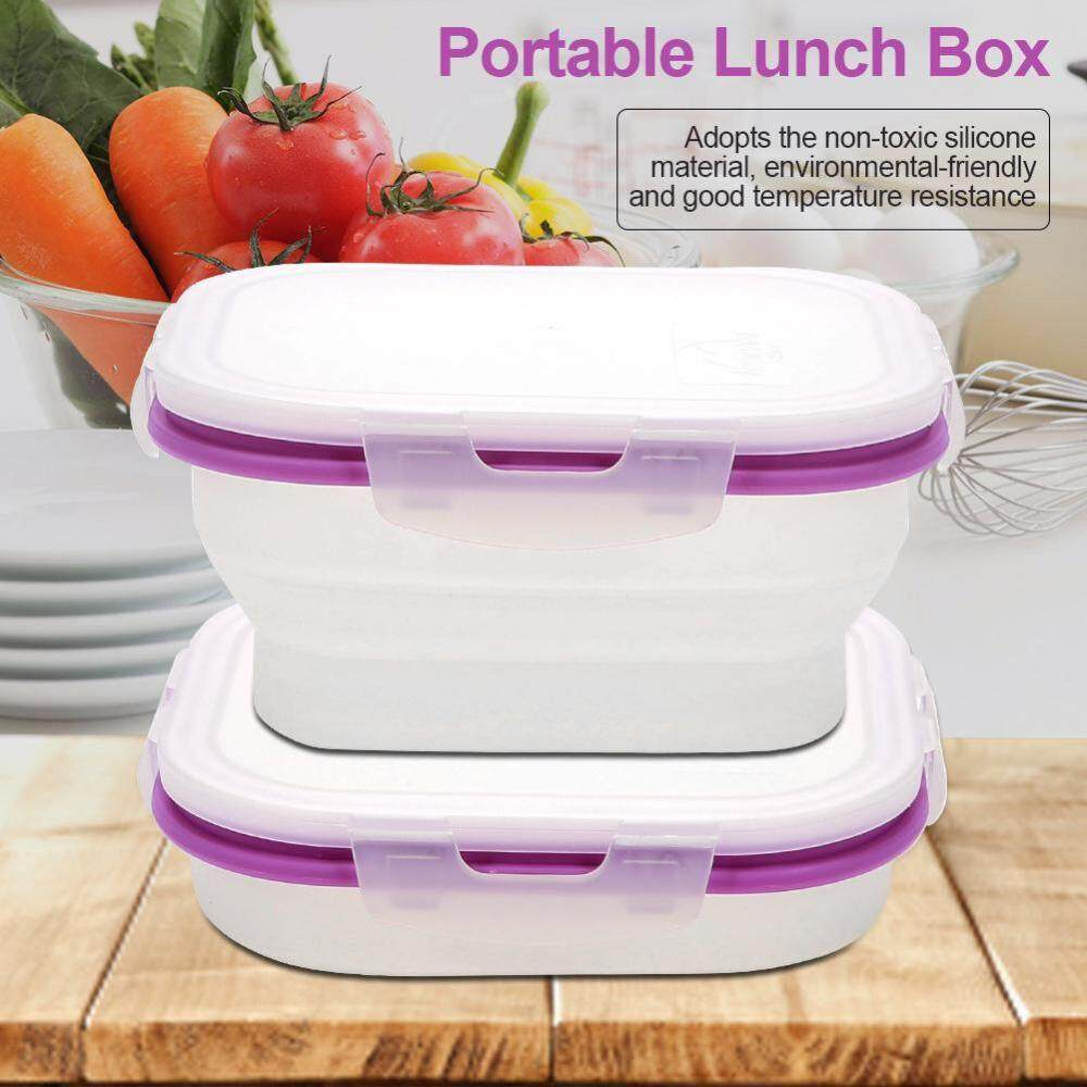 Camping Hiking Buy At Best Price In Malaysia Tas Wanita Fashion 63353 Light Purple Import Naturehike Outdoor Portable Silicone Folding Lunch Box Food Container For Travelling