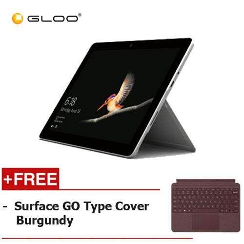 Micorsoft Surface Go Y/8GB 128GB + Surface Go Type Cover Burgundy Malaysia