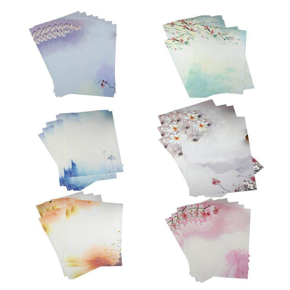 48pcs Writing Stationery Paper , Letter Writing Paper Letter Sets By Sillyshuai.
